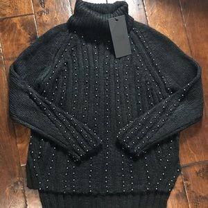 NWT Goldie London Stardust Cable knit sweater